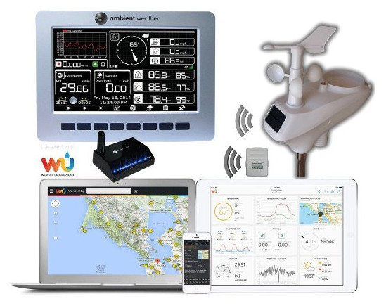 Ambient Weather WS-1200-IP Weather Station with ObserverIP